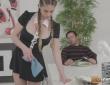 A la criada Cathy Heaven le encanta servir a su jefe Nick Moreno 1