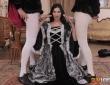 Jasmine Jae en un trío con Cervantes y Shakespeare 6