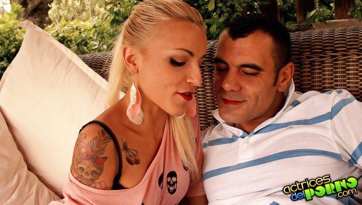 Jordanne Kali y Antonio Ros tiene sexo anal 10