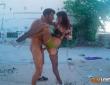 A Lucía Nieto y Nick Moreno les va la dominación en plena calle 11