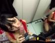 Alba de Silva y Nick Moreno se lo montan en el probador 5