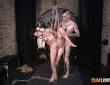 Alexa Nasha y Nora Barcelona en una sesión de Shibari 3