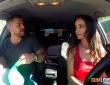 Alyssia Kent y Juan Lucho se lo montan en el coche 2