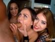Amirah Adara, Anina Silk y Misha Cross en una escena porno 5