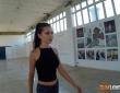 Anal con Sasha Rose en el polígono industrial 2