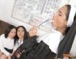 Apolonia, Aysha y Gina tienen hábitos lésbicos 9