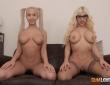 Blondie Fesser y Briana Banderas en un trío con Kevin Coto 5