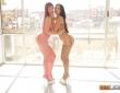 Claudia Bavel y Lilyan en un trío con Nacho Vidal 1