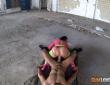 Deborah Wild y Nick Moreno follando en un lugar abandonado 11
