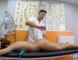 Gala Brown acude a la clínica de fisioterapia de Nick Moreno 2