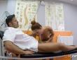Gala Brown acude a la clínica de fisioterapia de Nick Moreno 9