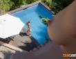 Henessy y Juan Lucho se lo montan en la piscina 2