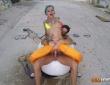 Onix Babe y Nick Moreno se lo montan en un lugar abandonado 9