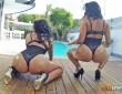 Sheila y Kesha Ortega juntas en una escena porno 1