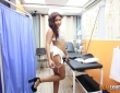 Sheyla Gómez y Nick Moreno se lo montan en la clínica 2