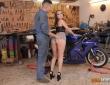 Zoe Doll y Alberto Blanco follando en el garaje 6