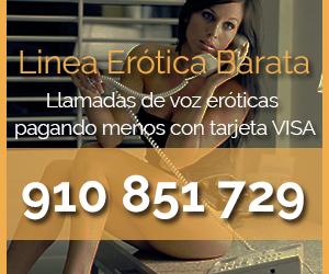 Banner Linea Erótica VISA