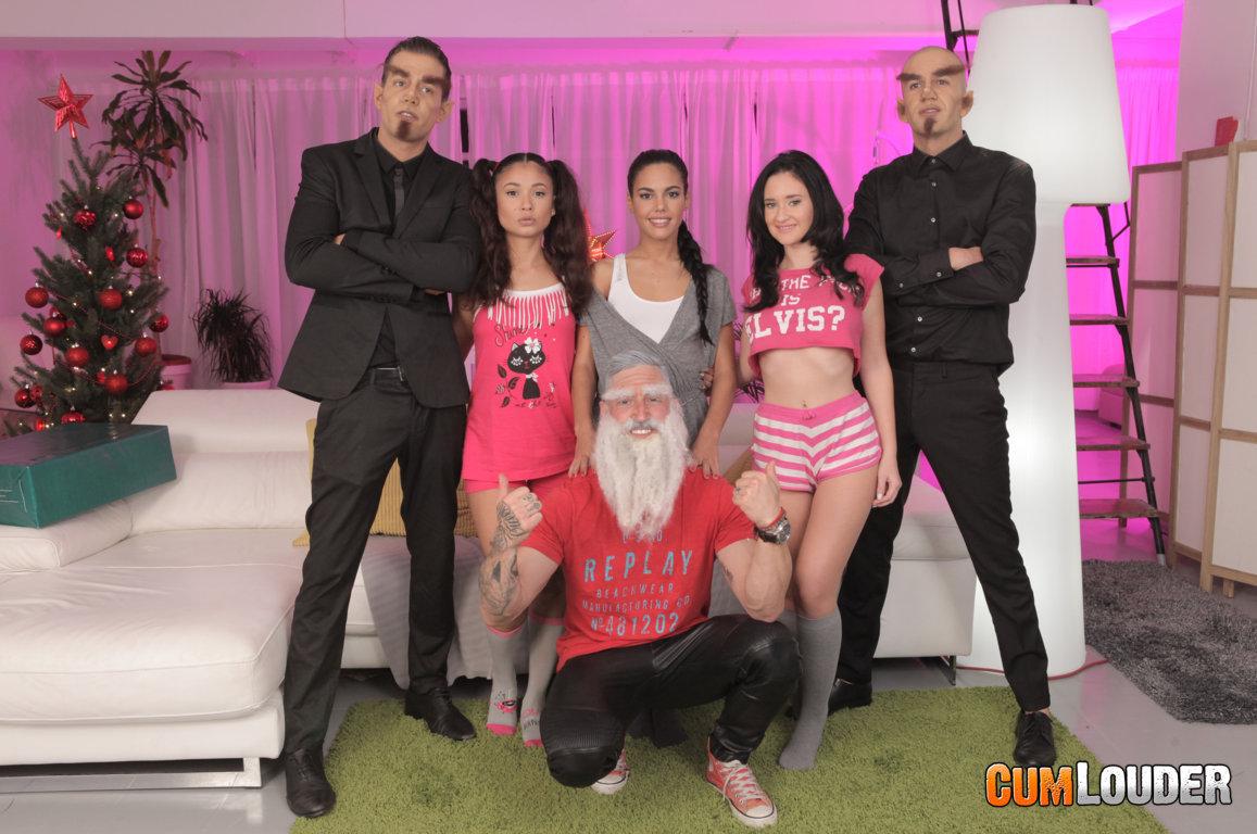 Apolonia, Gina y Jade en una orgía