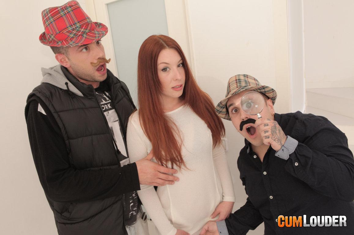 Pony y Joana Ríos en un trío con Alberto Blanco