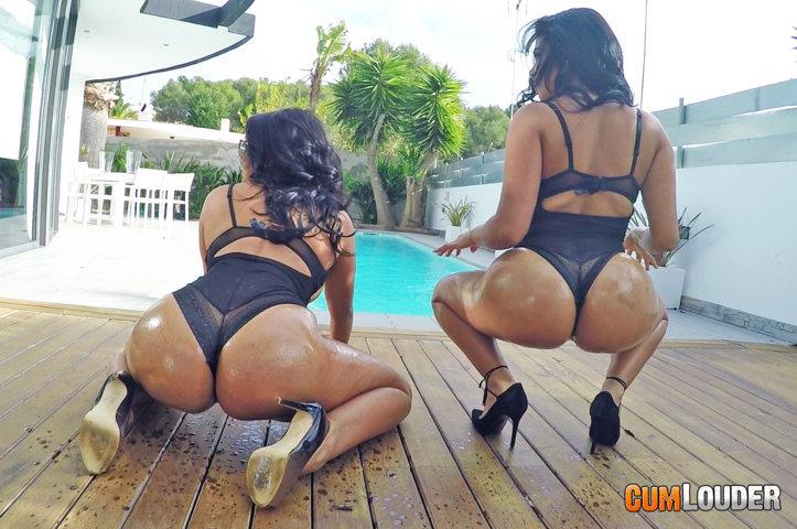 Sheila y Kesha Ortega juntas en una escena porno